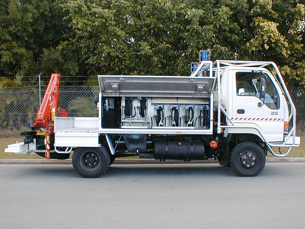 Mine Vehicles Gibson Tru Body